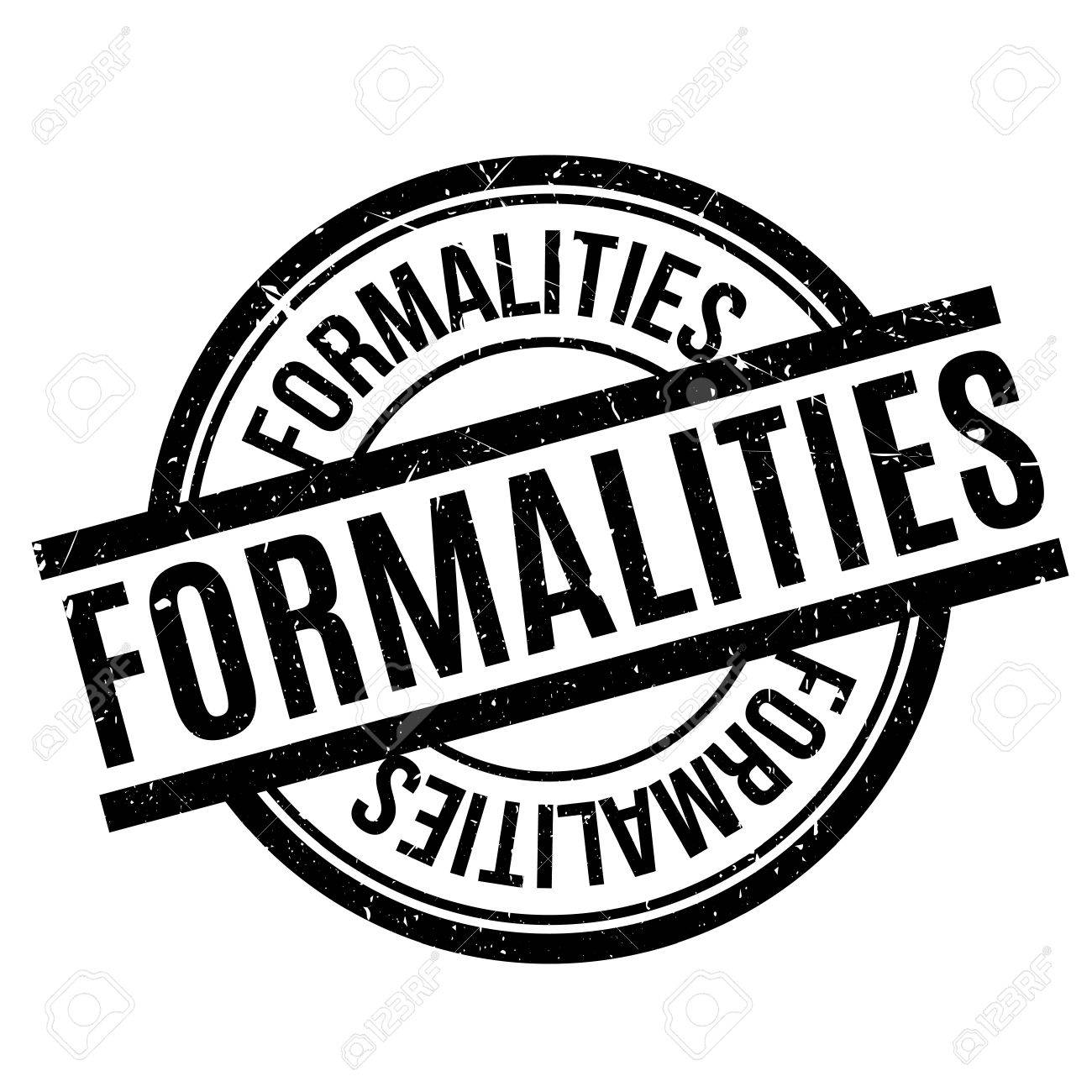 Formalities rubber stamp - 77407714