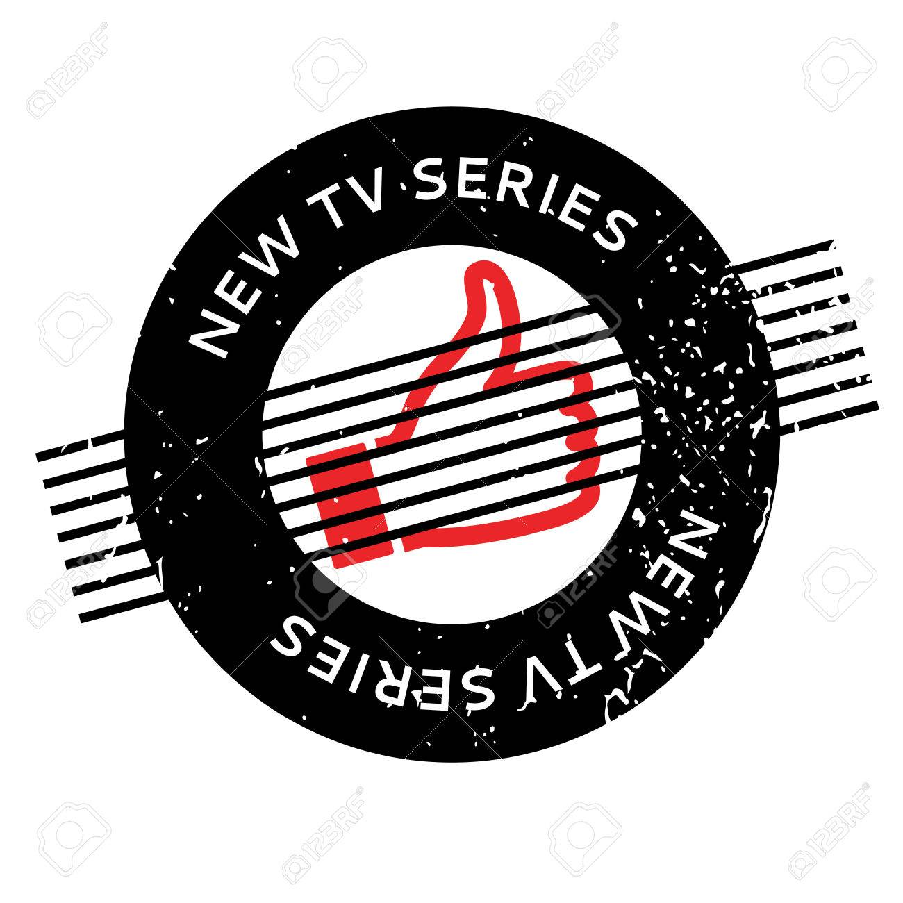 New Tv Series rubber stamp - 77773366