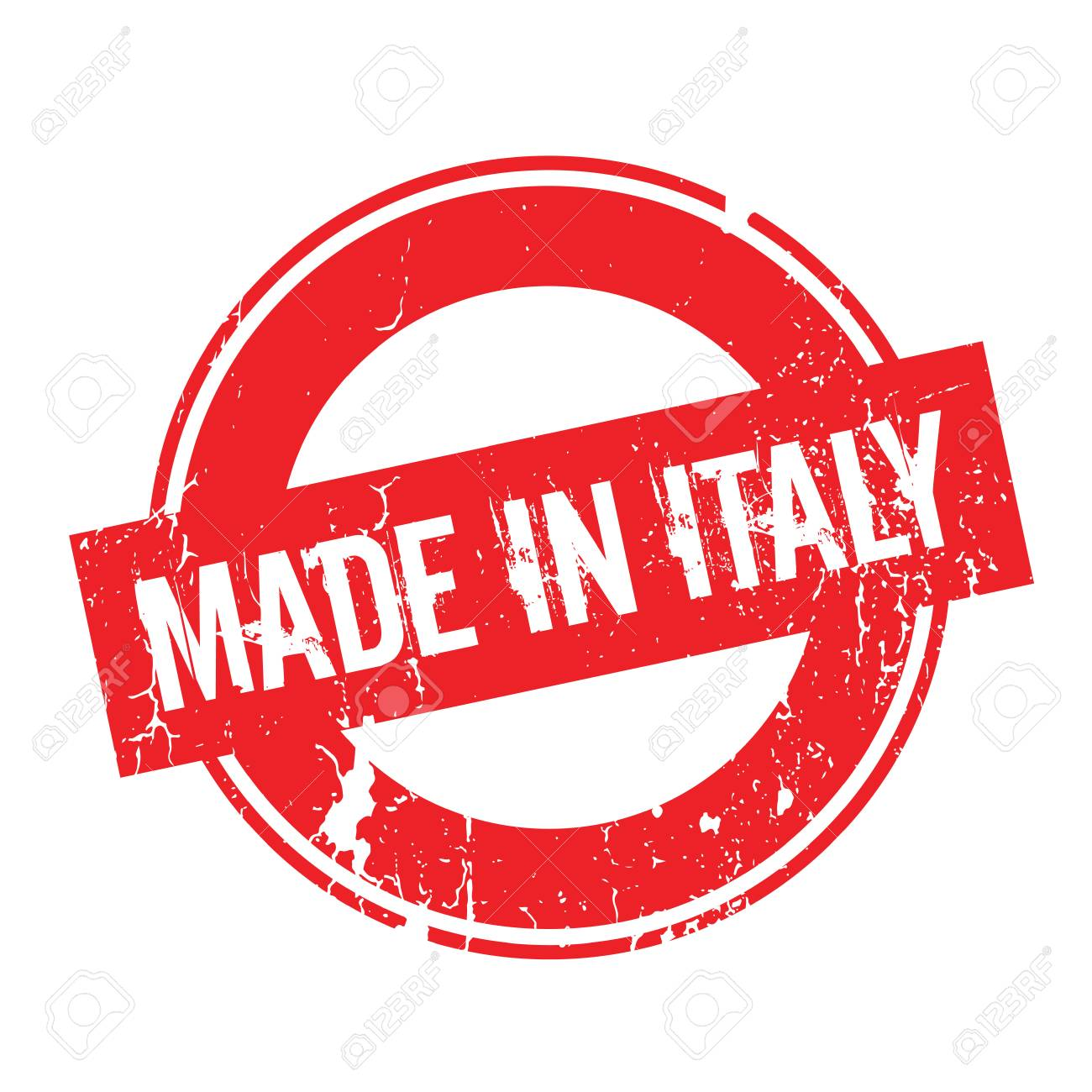 5f36cdc35e Made In Italy rubber stamp Stock Vector - 78174145