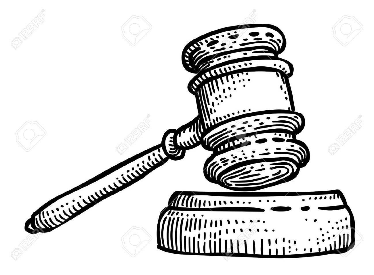 Cartoon image of law icon judge gavel symbol royalty free cliparts judge gavel symbol stock vector 79004381 buycottarizona Gallery