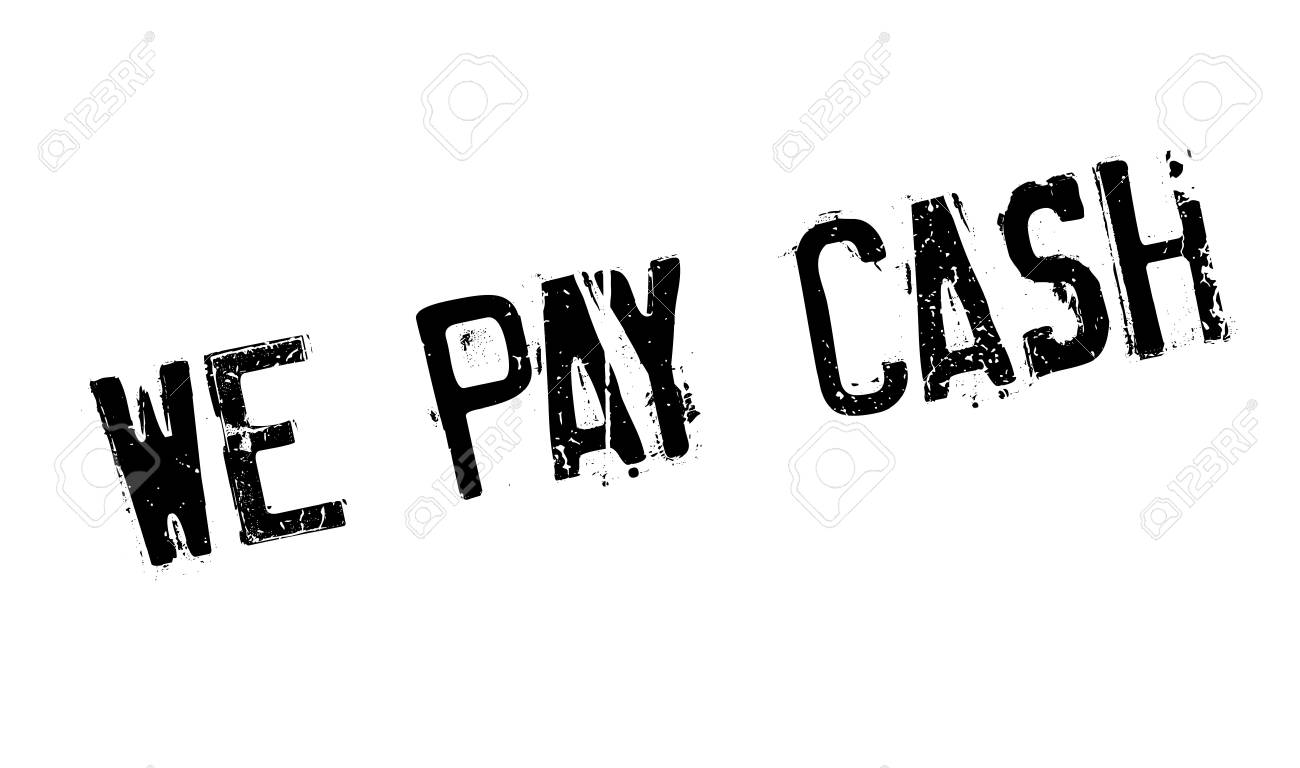 We Pay Cash Rubber Stamp Royalty Free Cliparts, Vectors, And Stock ...