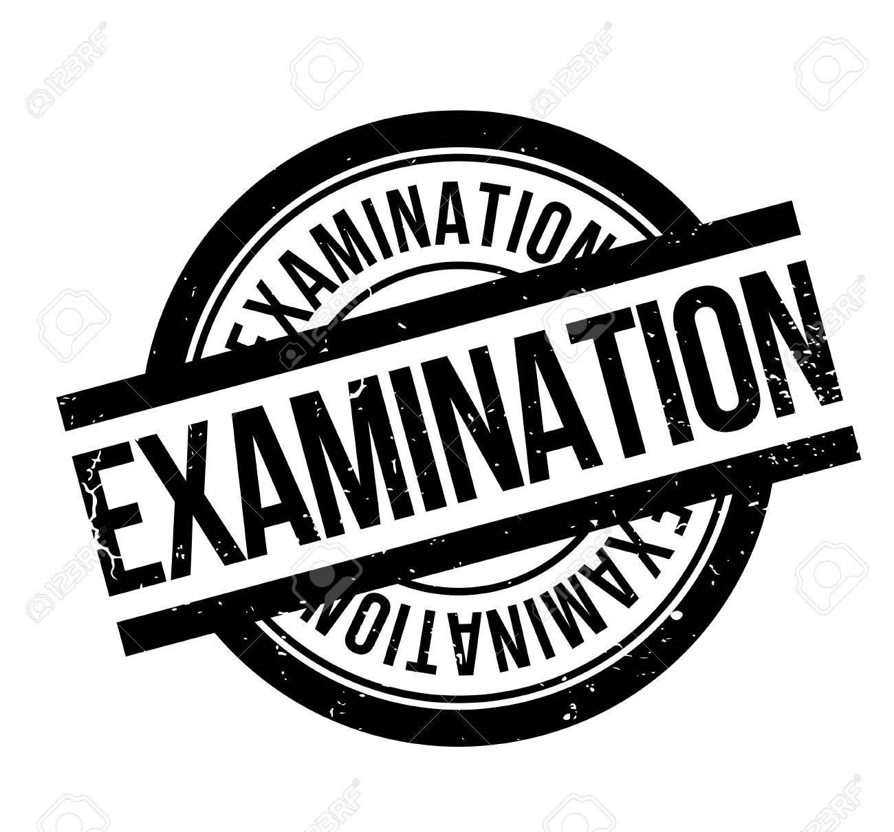 Examination rubber stamp - 82549989