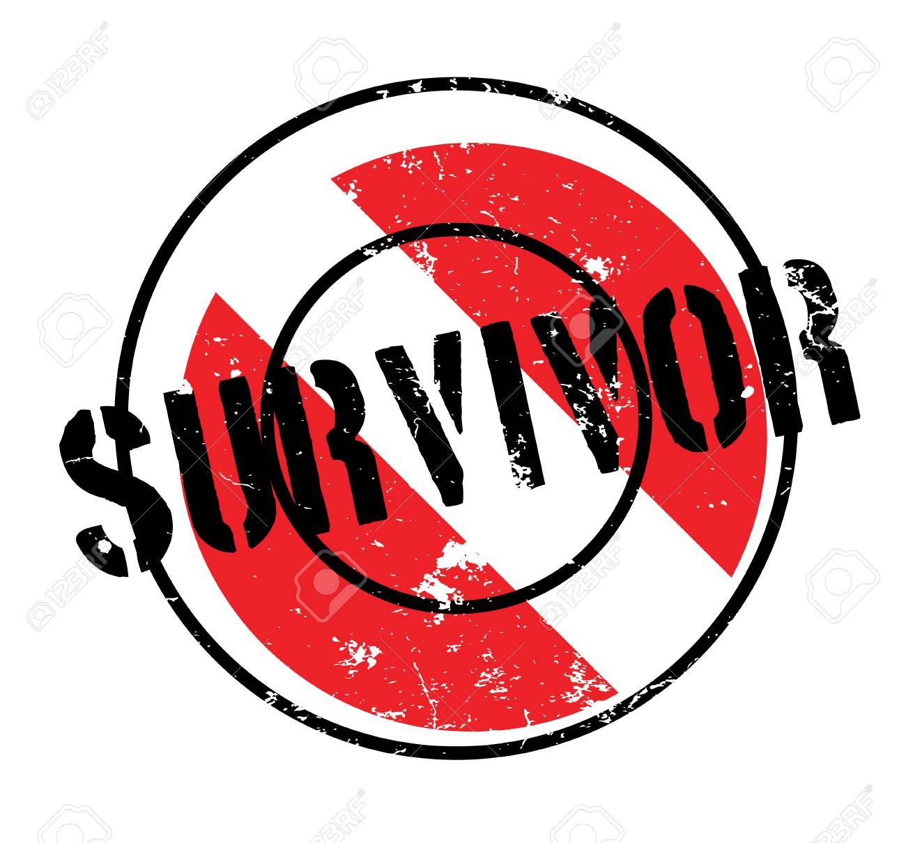 survivor sign on a rubber stamp a black text over a black and rh 123rf com free breast cancer survivor clip art