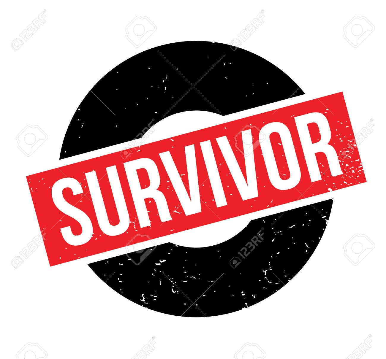 survivor rubber stamp vector illustration royalty free cliparts rh 123rf com  free breast cancer survivor clip art