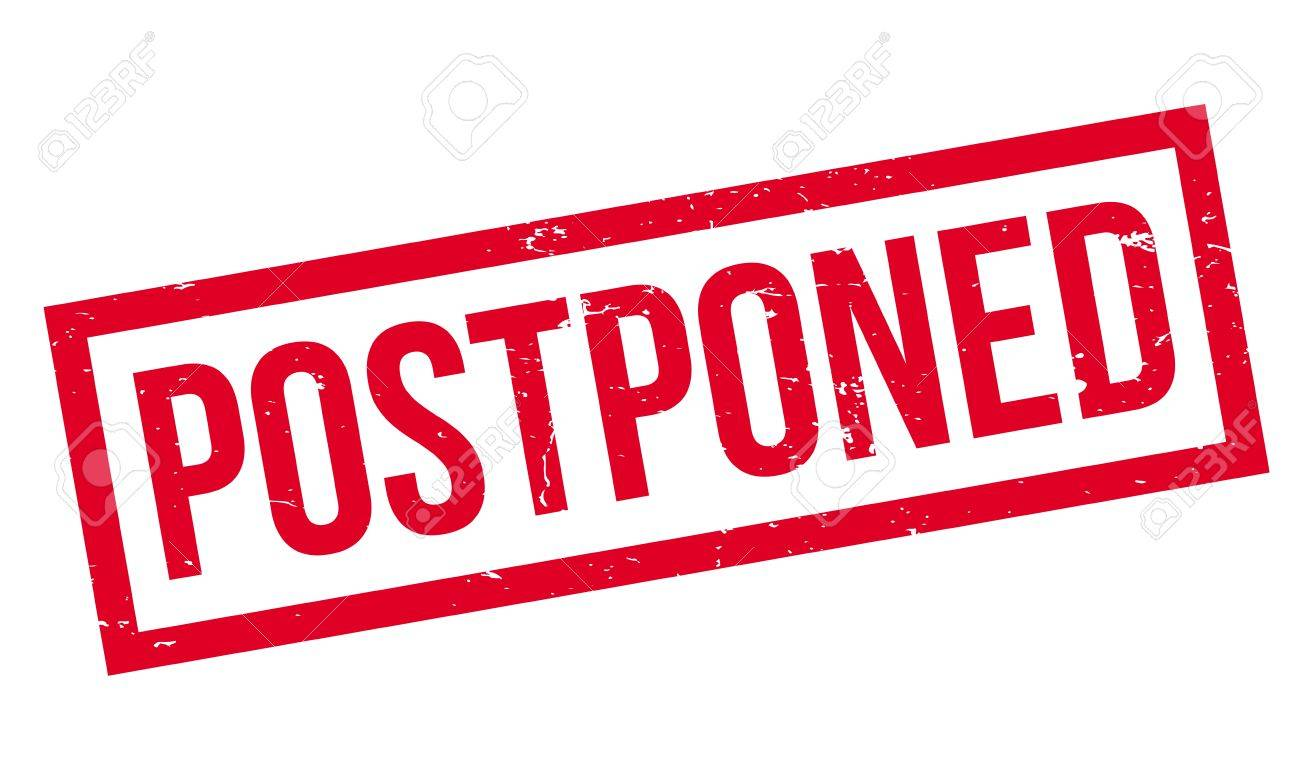 Image result for postpone