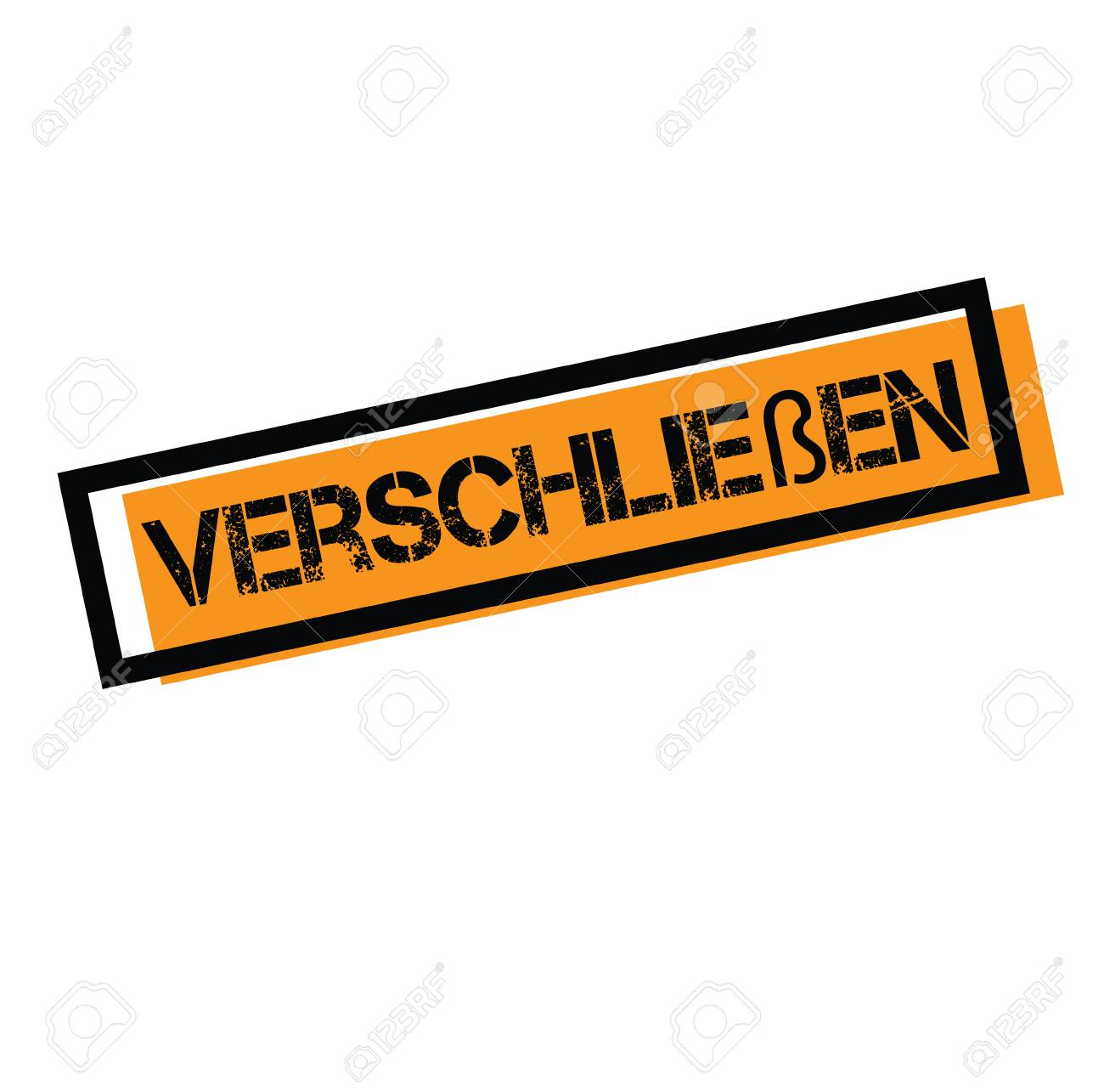 Shut Up Stamp In German Royalty Free Cliparts Vectors And Stock Illustration Image 107426657