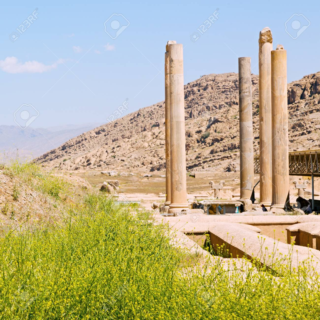 In Iran Persepolis The Old Ruins Historical Destination Monuments Stock Photo Picture And Royalty Free Image Image 65401359