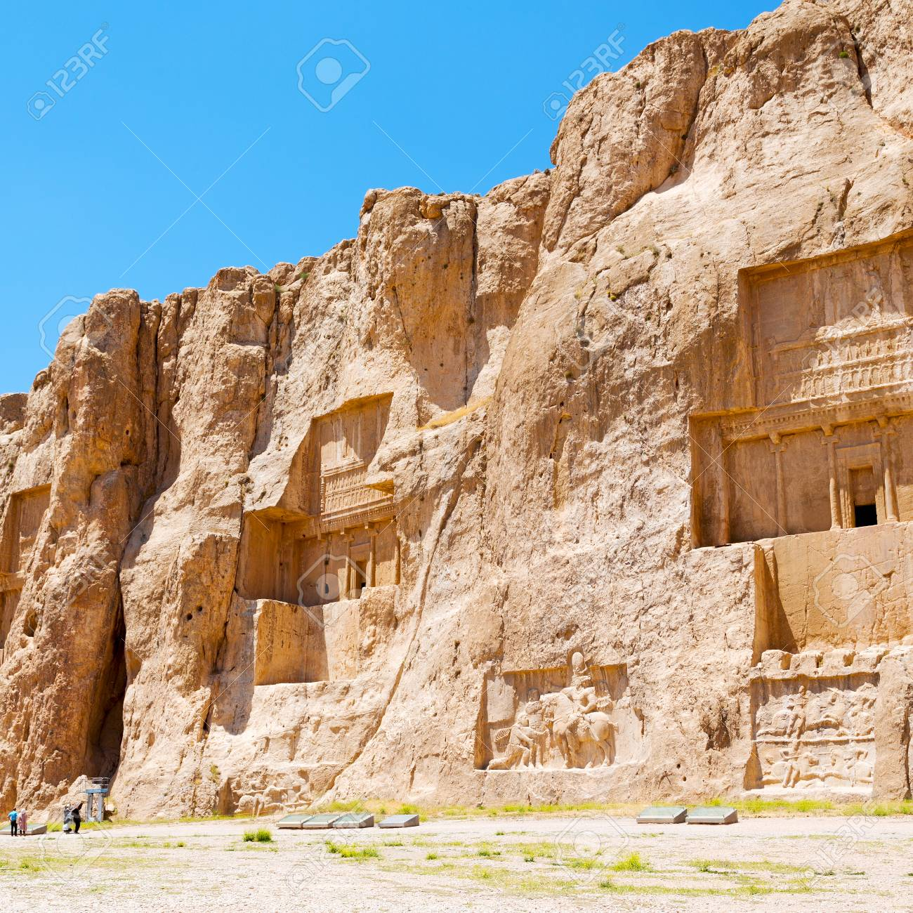 In Iran Near Persepolis The Old Ruins Historical Destination Stock Photo Picture And Royalty Free Image Image 69566081