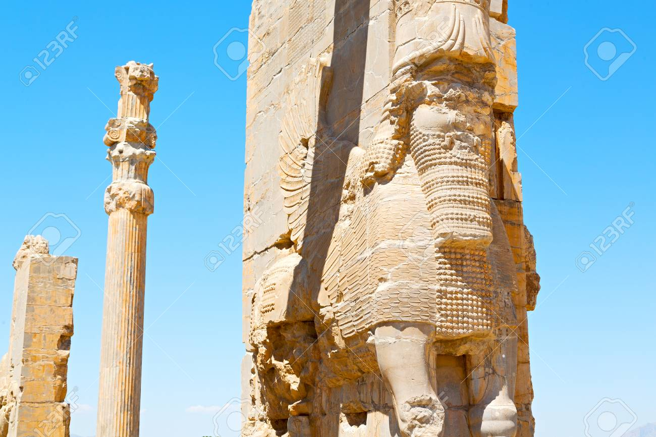 Blur In Iran Persepolis The Old Ruins Historical Destination Stock Photo Picture And Royalty Free Image Image 72656564