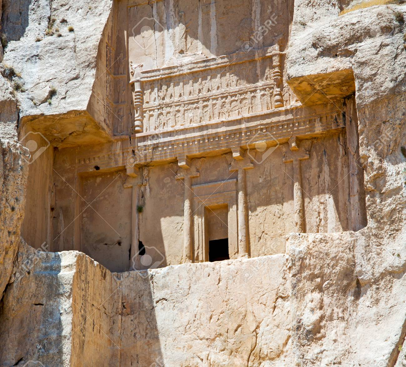 Blur In Iran Near Persepolis The Old Ruins Historical Destination Stock Photo Picture And Royalty Free Image Image 72672245