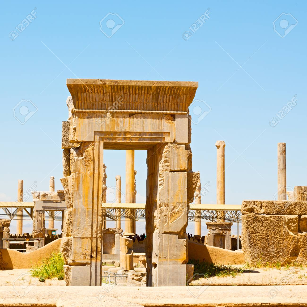 Blur In Iran Persepolis The Old Ruins Historical Destination Stock Photo Picture And Royalty Free Image Image 76747176