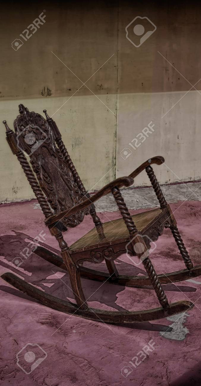 Prime In Philippines Old Dirty Terrace Whith Rocking Chair Empty Machost Co Dining Chair Design Ideas Machostcouk
