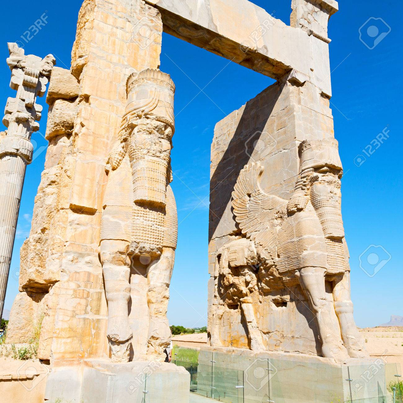 Blur In Iran Persepolis The Old Ruins Historical Destination Stock Photo Picture And Royalty Free Image Image 77827714