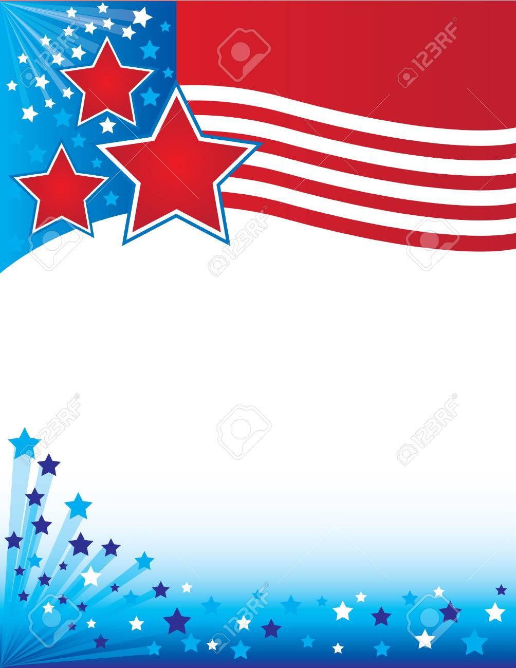 patriotic flyer royalty free cliparts vectors and stock