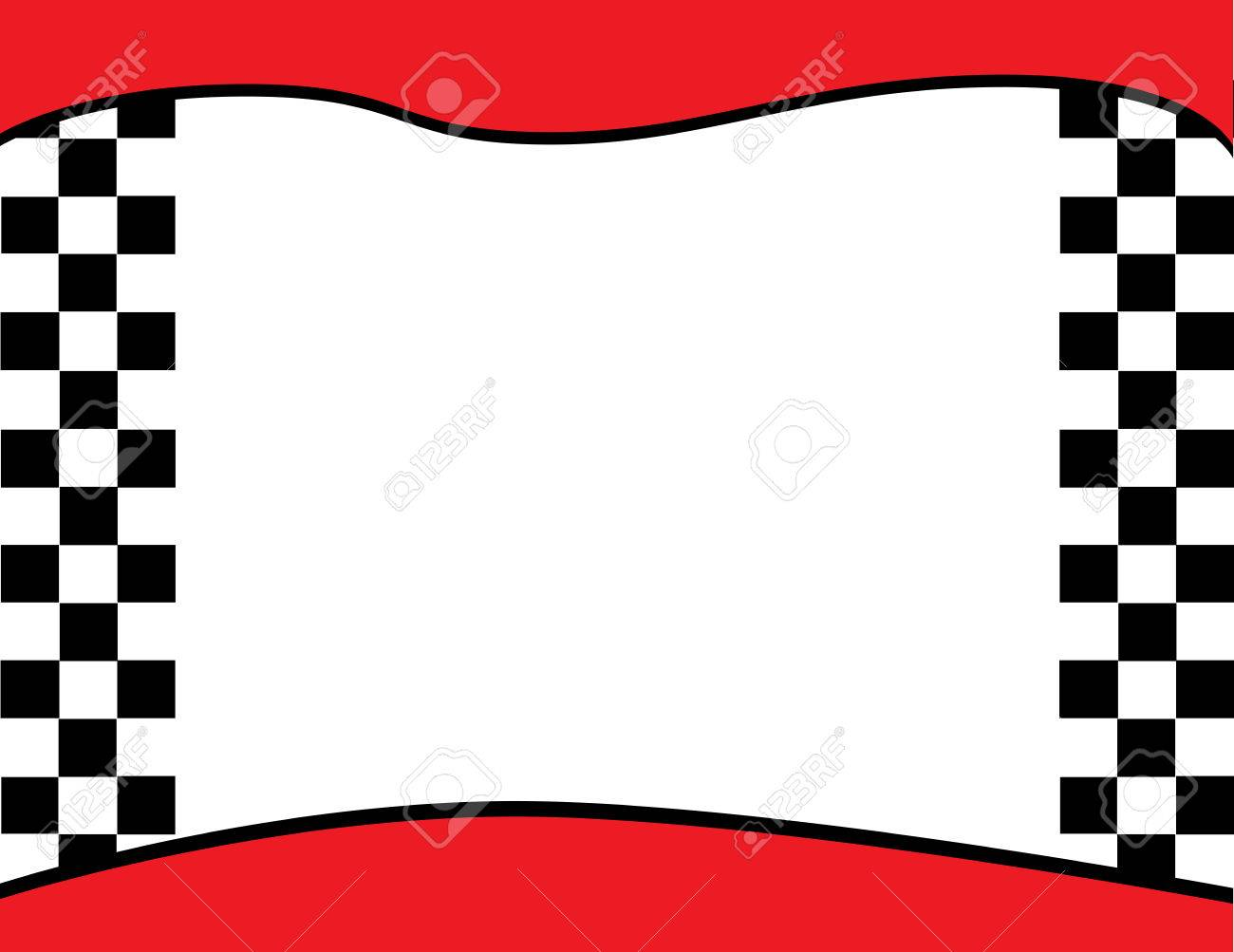checkered flag border background royalty free cliparts vectors and rh 123rf com red checkered border clip art free black checkered border clip art
