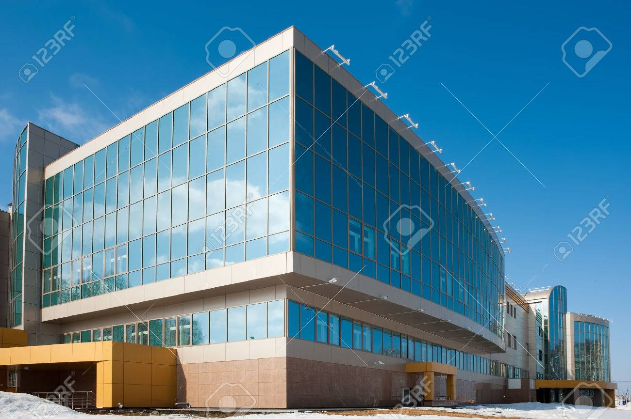 radiological center for oncological patients in Tyumen, Russia Stock Photo - 24239673