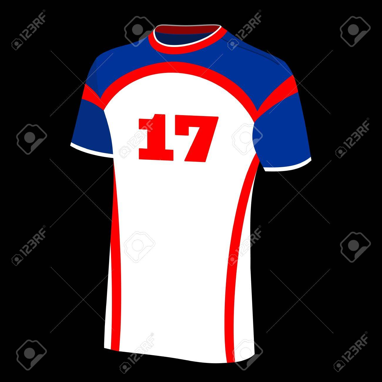 T-shirt sports isolated. Stock Vector - 12212547
