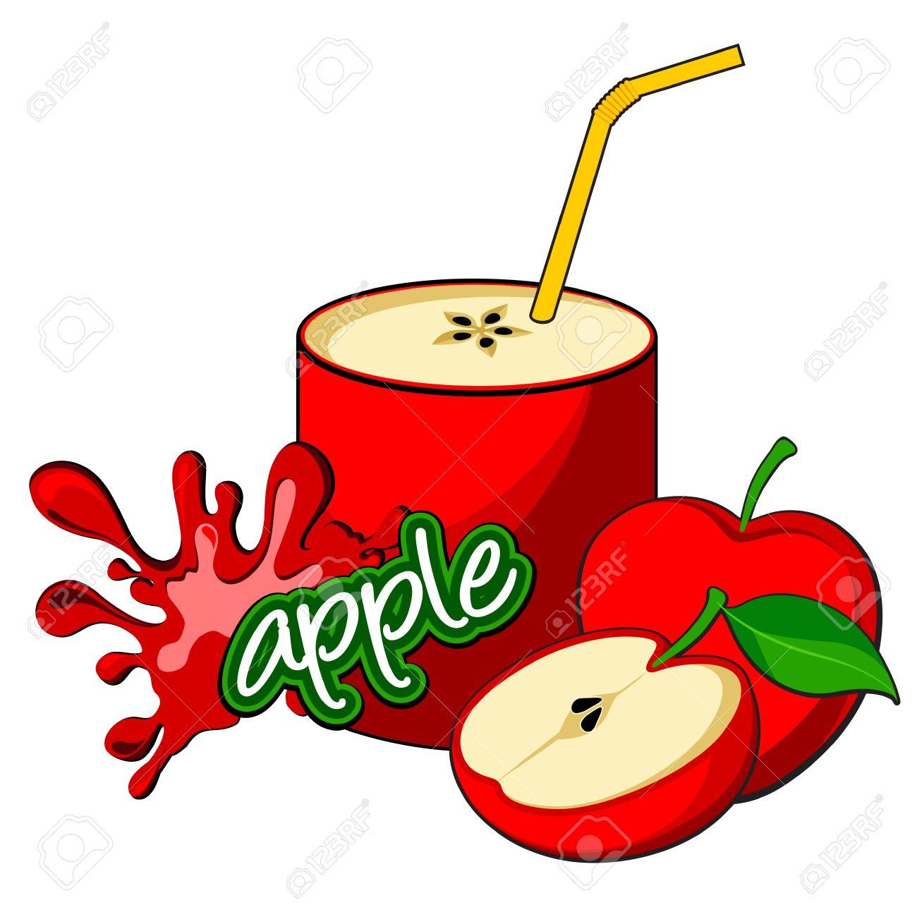 Apple juice Stock Vector - 16761814