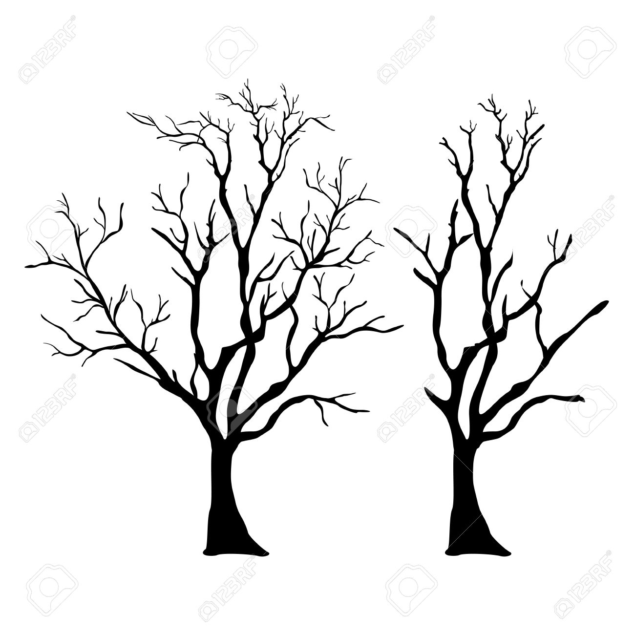 vector tree with branches royalty free cliparts vectors and stock rh 123rf com tree branch vector image tree branch vector free