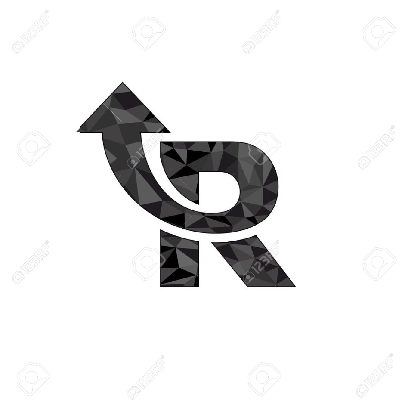 Letter r logo design with arrow symbol royalty free cliparts letter r logo design with arrow symbol stock vector 39673042 thecheapjerseys Images