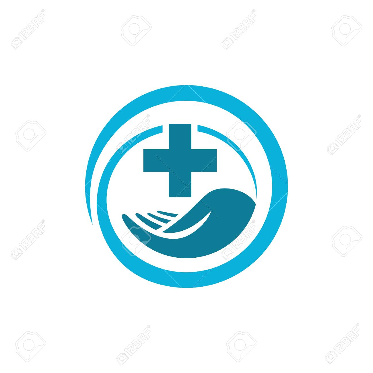 Vector Medical Health Icon Symbol Care Royalty Free Cliparts Vectors And Stock Illustration Image 99975011