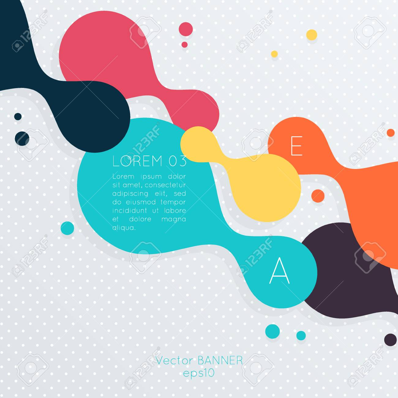 Abstract Business Background For Infographics Templates Posters Cards And Flyers
