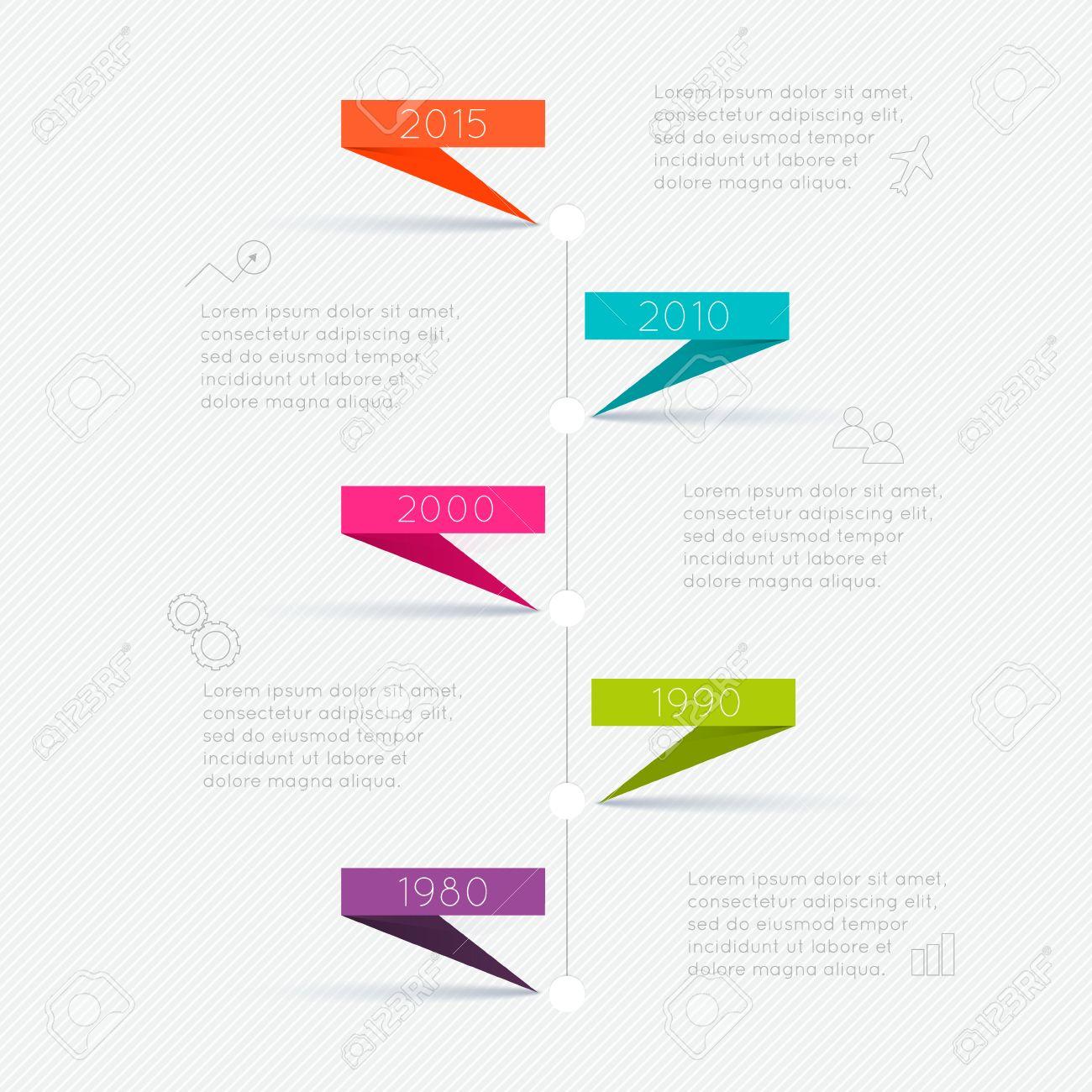 Infografik Timeline-Design-Vorlagen. Charts, Diagramme Und Andere ...