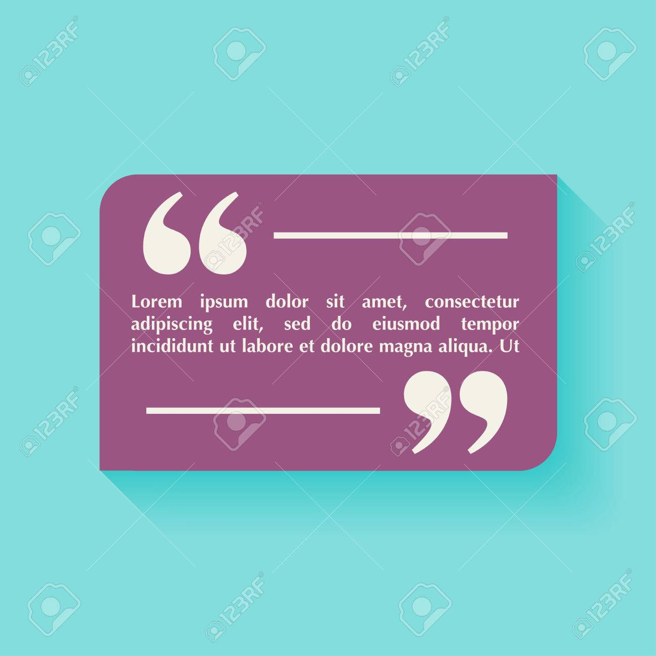 Quote blank template design elements circle business card template quote blank template design elements circle business card template paper sheet information reheart Gallery
