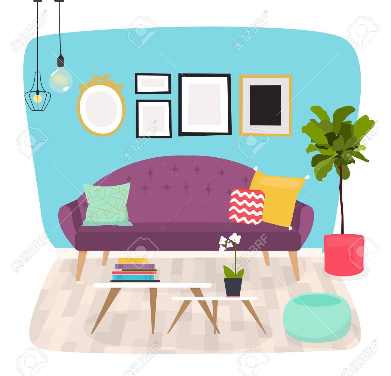 Wohnzimmer Mobel Und Wohnaccessoires Einschliesslich Sofas
