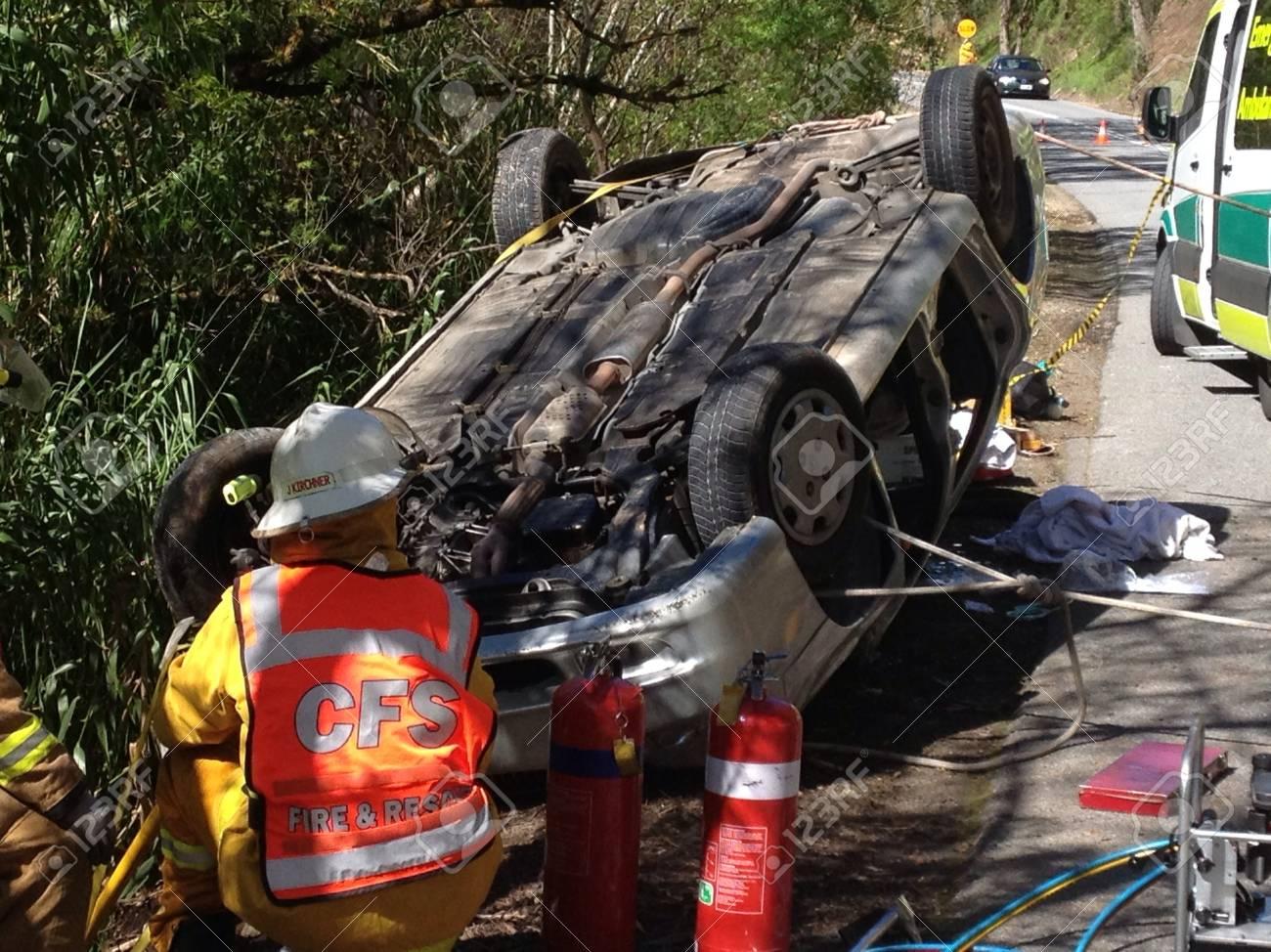 Car accident, Adelaide, Australia
