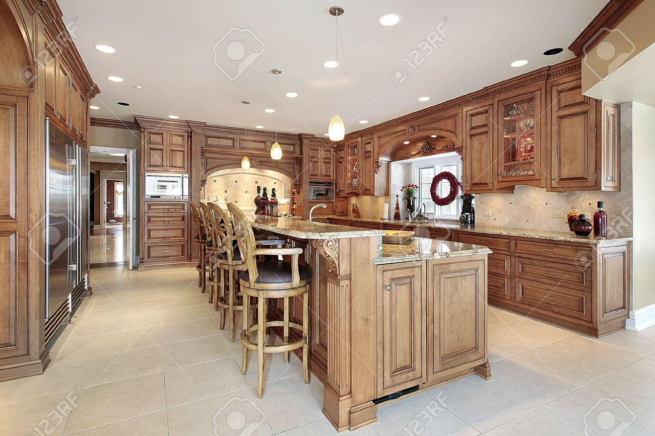 ^ Kitchen wo Islands Deluxe Home Design