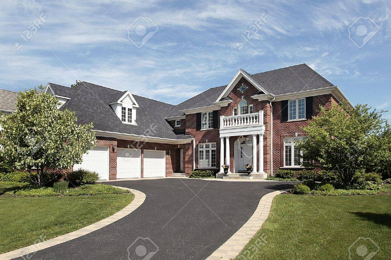 wonderful luxury homes exterior brick best classic house mansion - Luxury Homes Exterior Brick