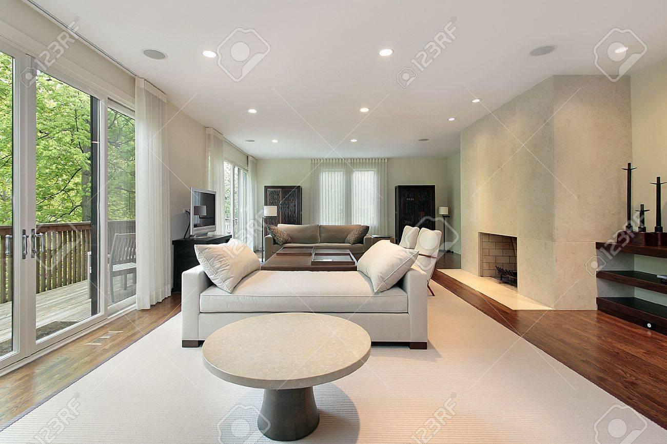 luxus wohnzimmer modern mit kamin : Kamin Ideen Erstaunlich Auf Wohnzimmer Mit Mit Luxus Dekoelemnte