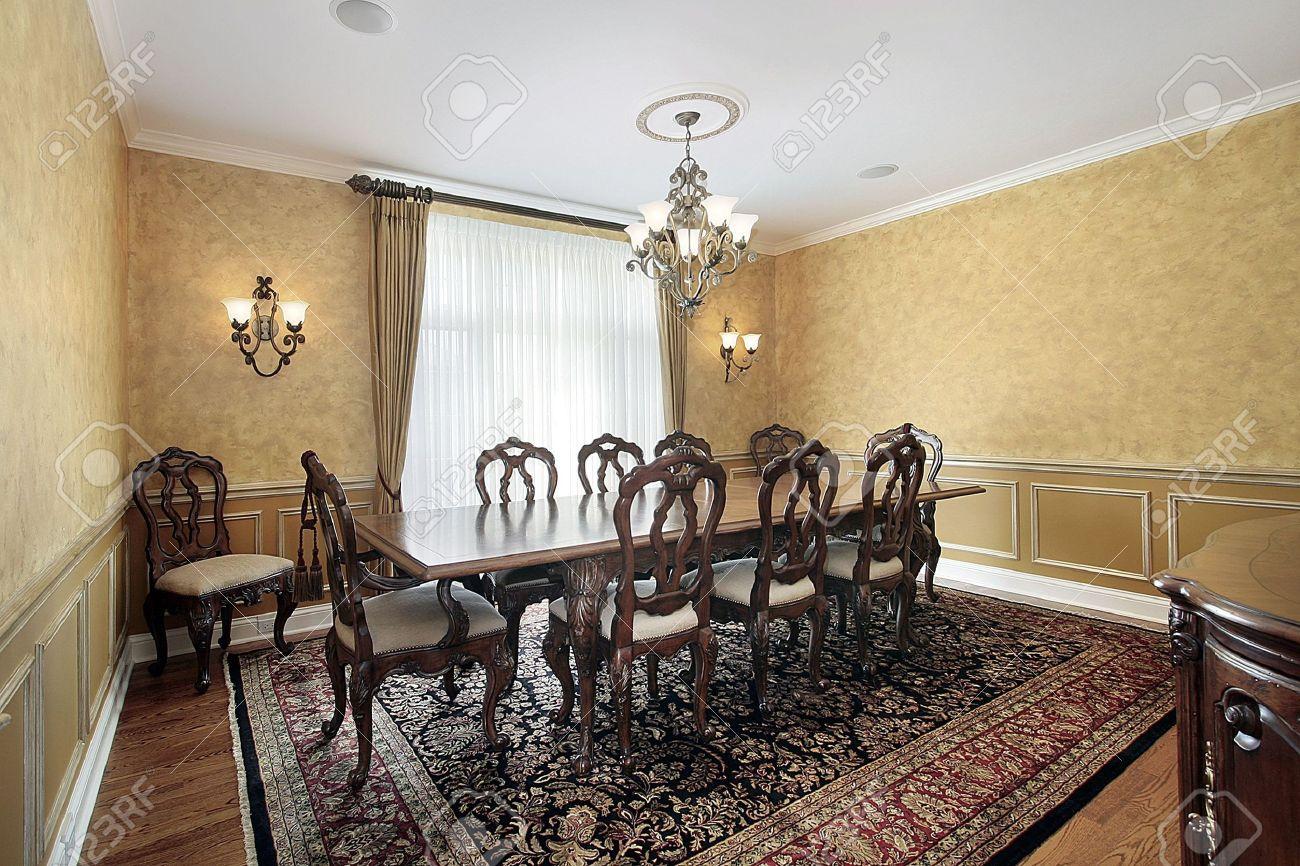 Legante Salle A Manger Avec Une Table De Grande Taille Dans La