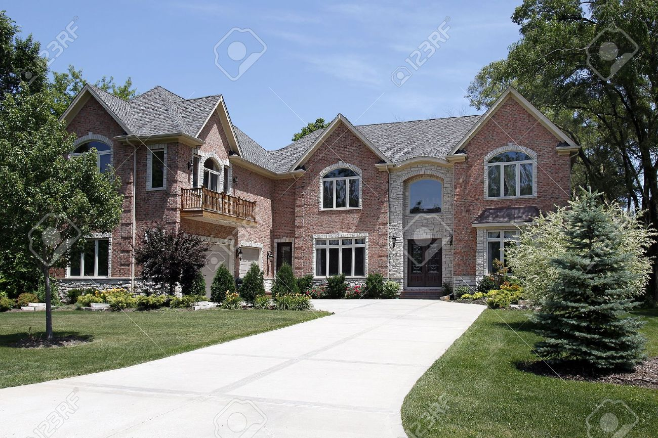 Nice Luxury Home Exterior Stock Photos Royalty Free Luxury Home