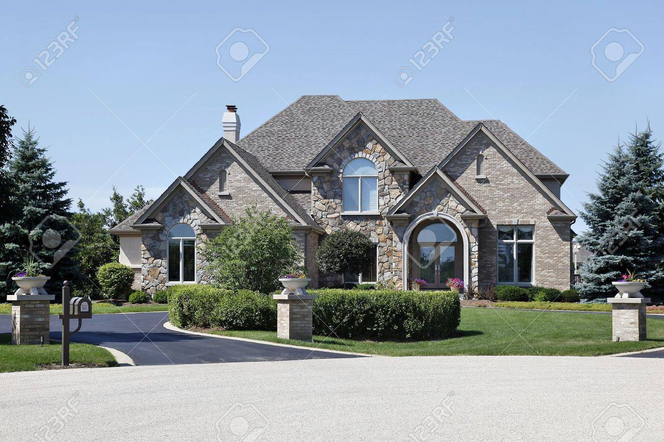 Luxury Homes Exterior Brick luxury homes exterior brick