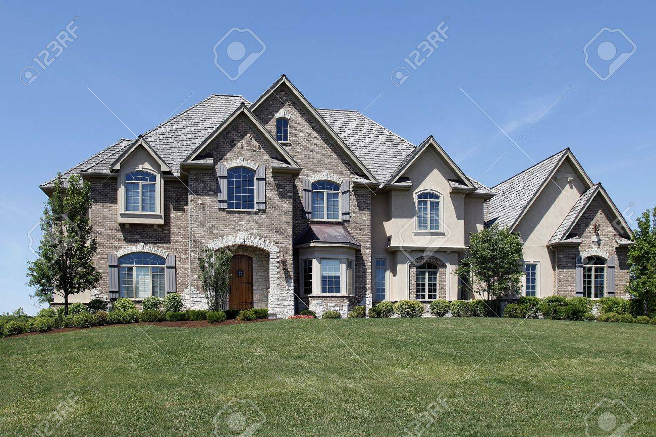luxury home exterior stock photos. royalty free luxury home