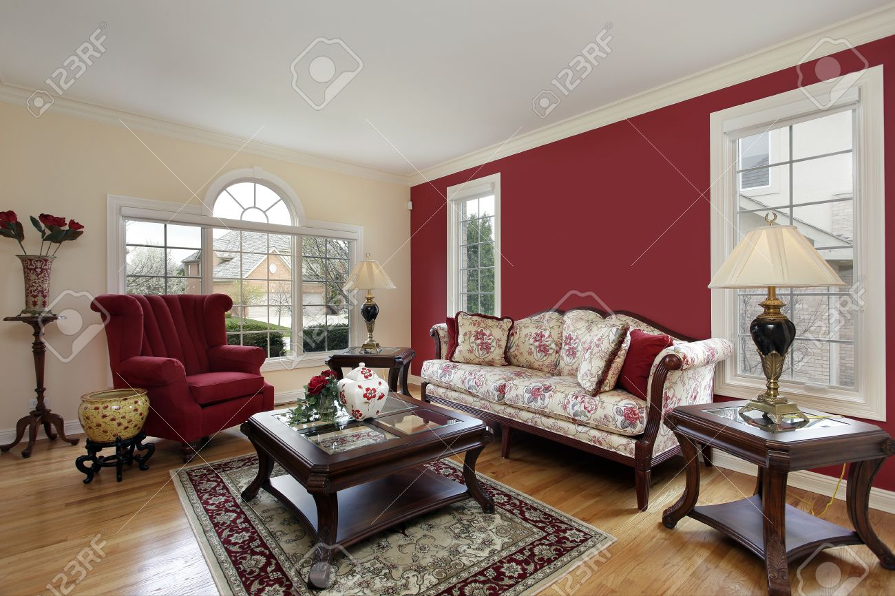 cream colored walls living room