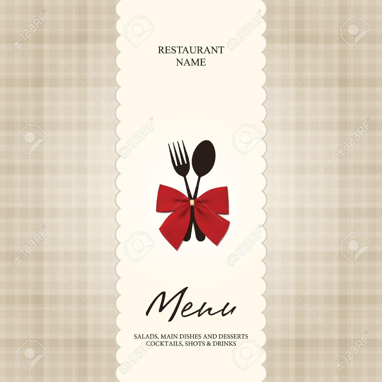 Vector. Restaurant or cafe menu design Stock Vector - 10940302