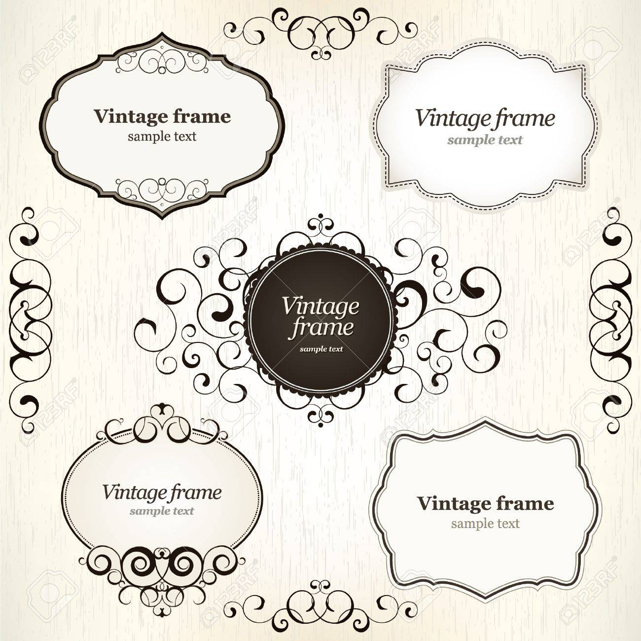 Vintage labels Stock Vector - 11539267