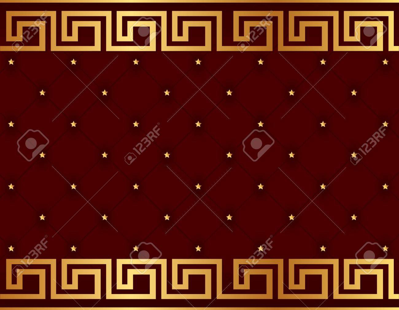 Vector. Seamless glamour damask wallpaper Stock Vector - 11659438