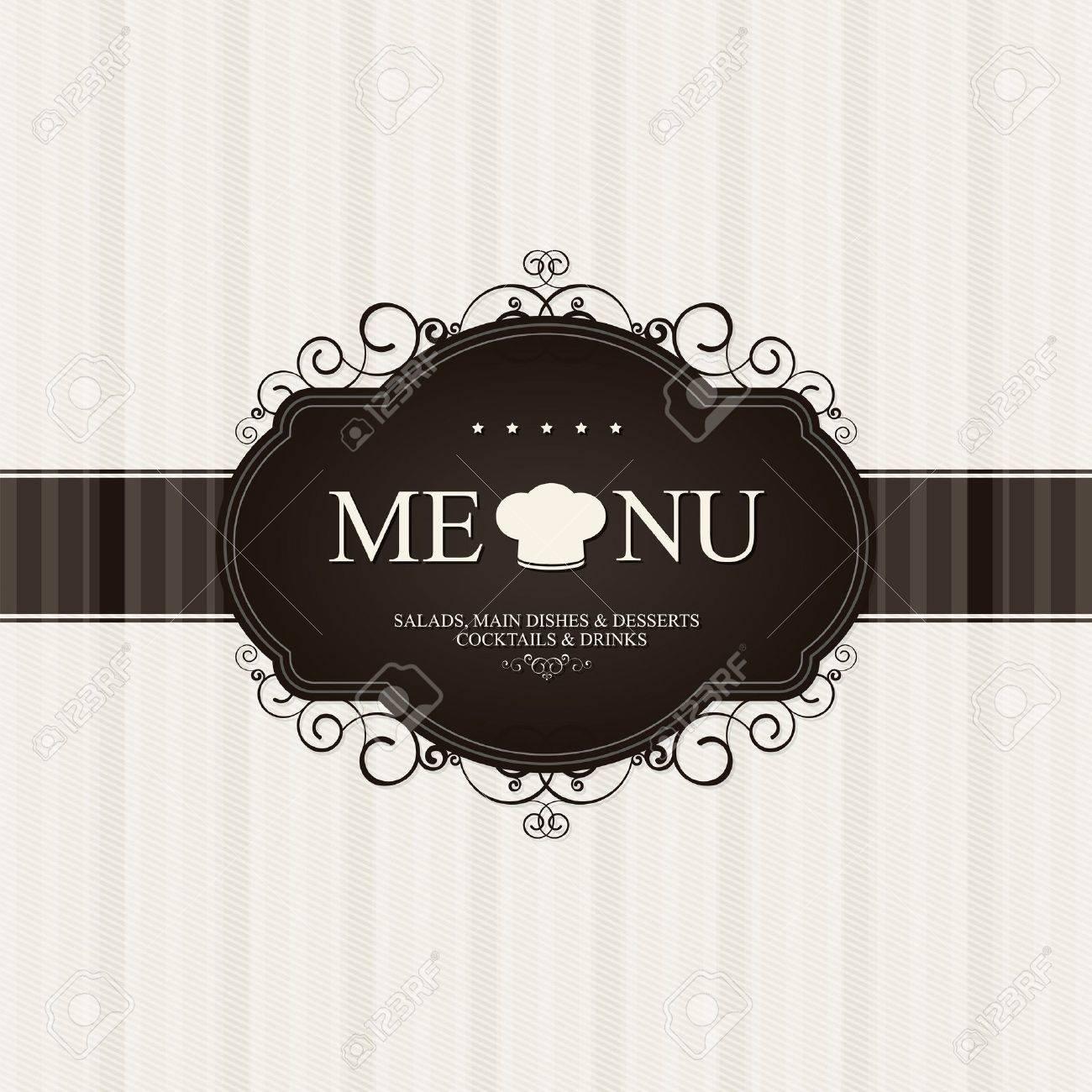 Restaurant menu design Stock Vector - 11964393