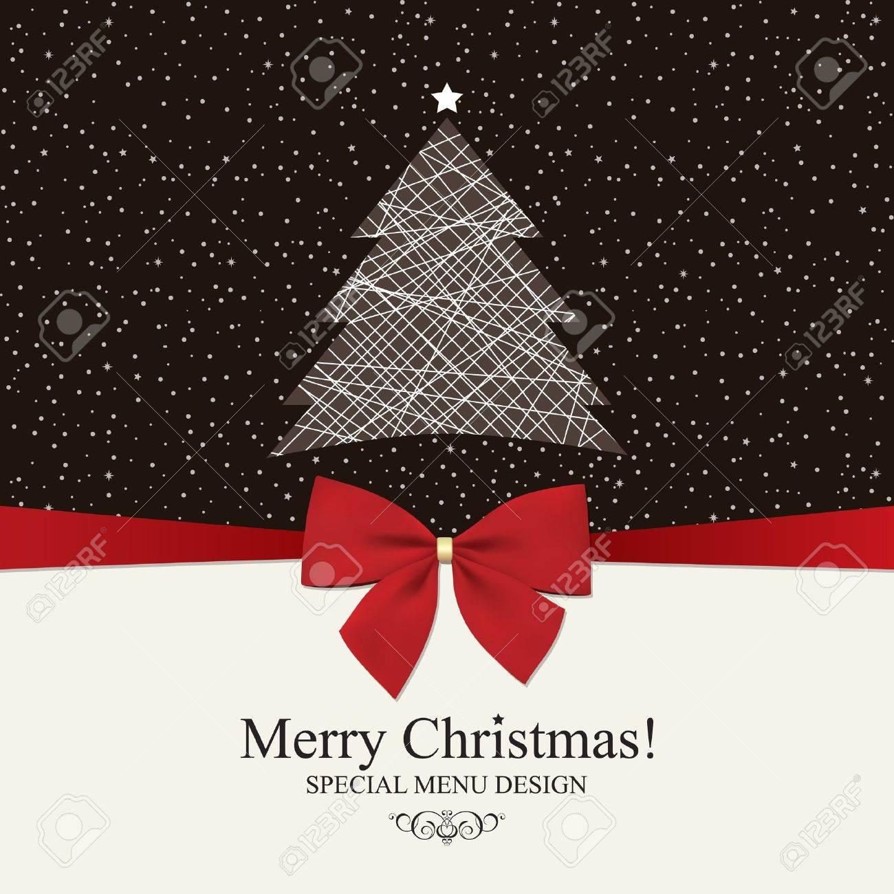 special christmas menu design royalty free cliparts vectors and