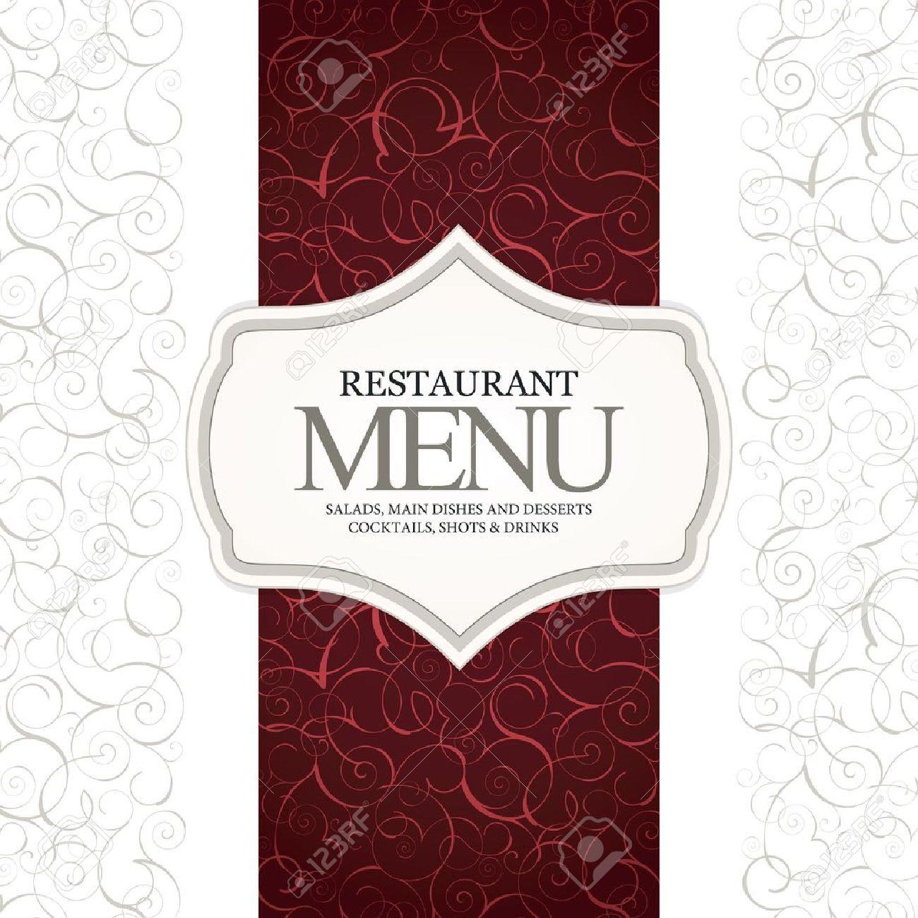 restaurant menu design royalty free cliparts, vectors, and stock