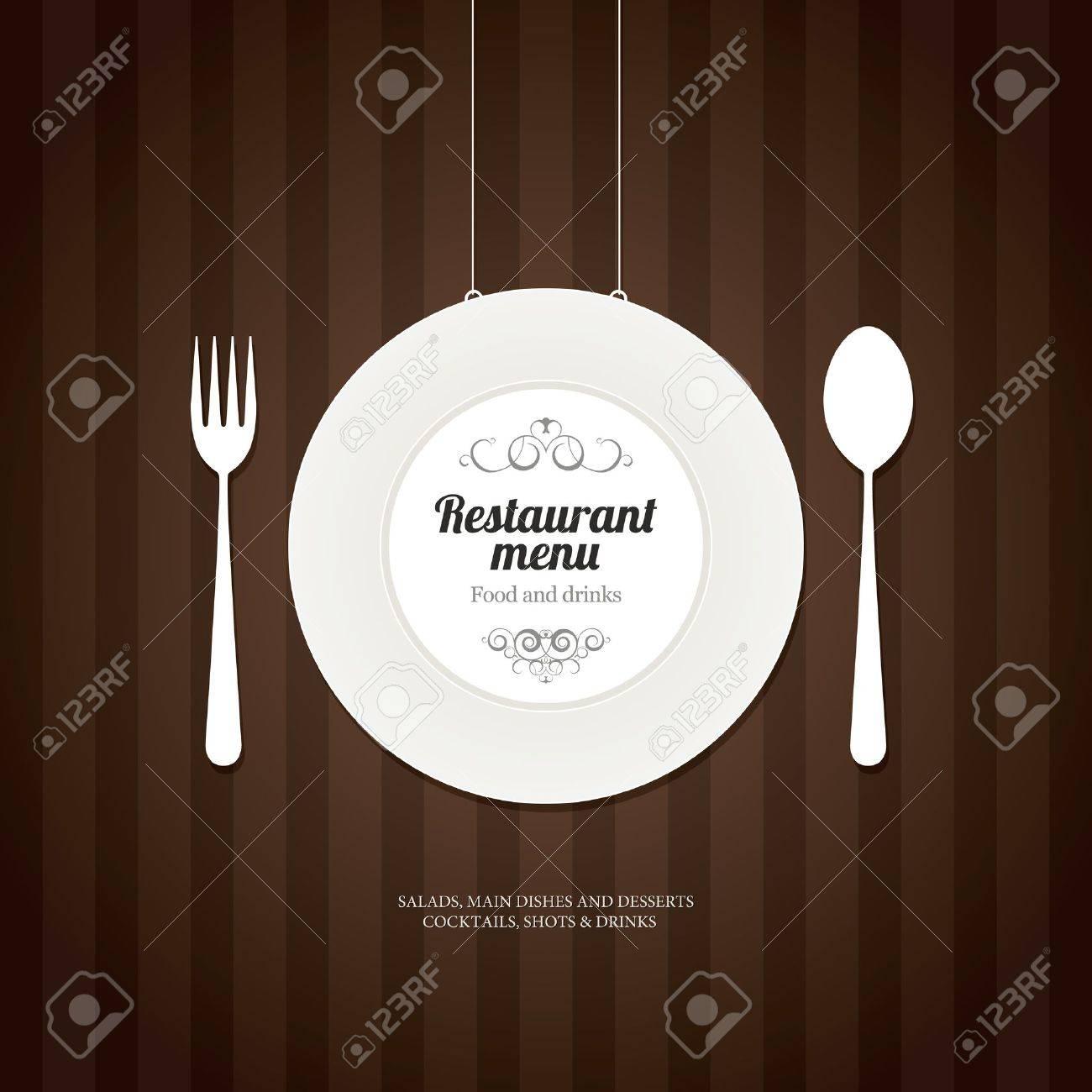 Restaurant menu design Stock Vector - 16666138
