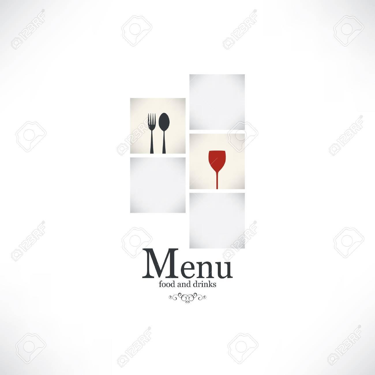 Restaurant menu design Stock Vector - 17989291