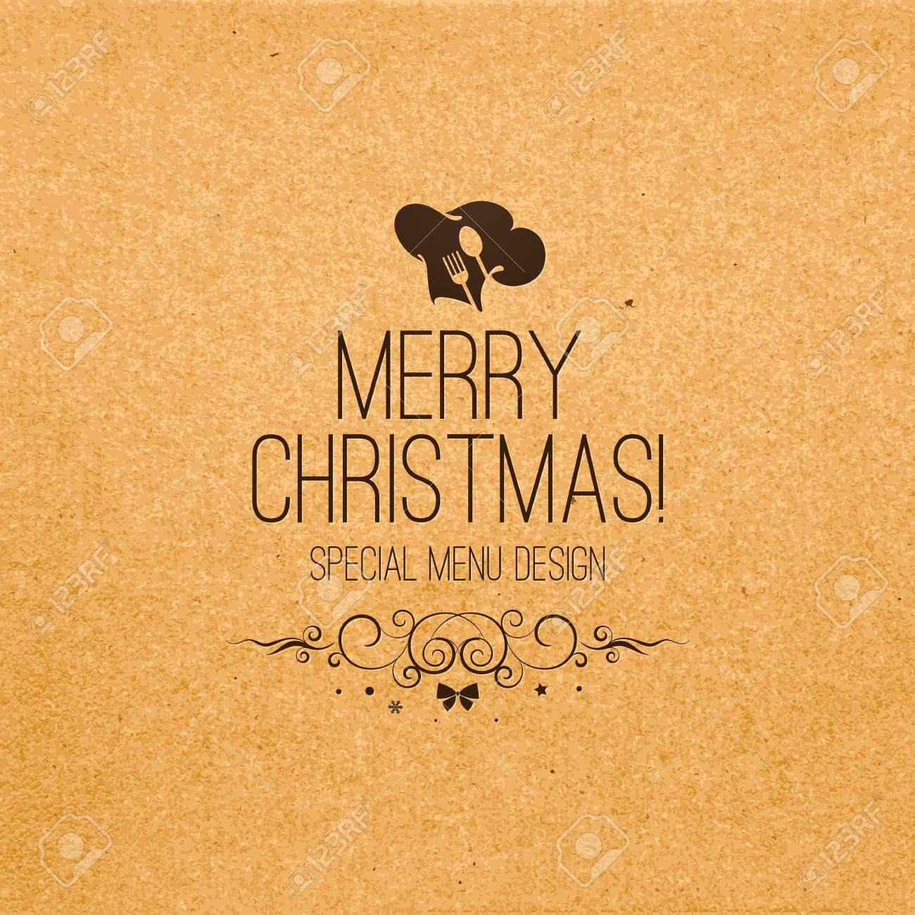 special christmas restaurant menu design royalty free cliparts