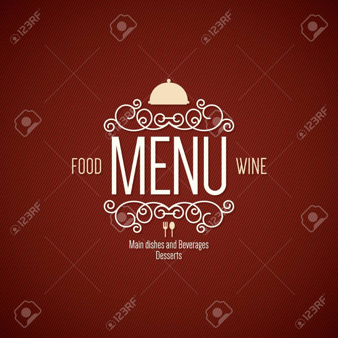Restaurant menu design - 39948211