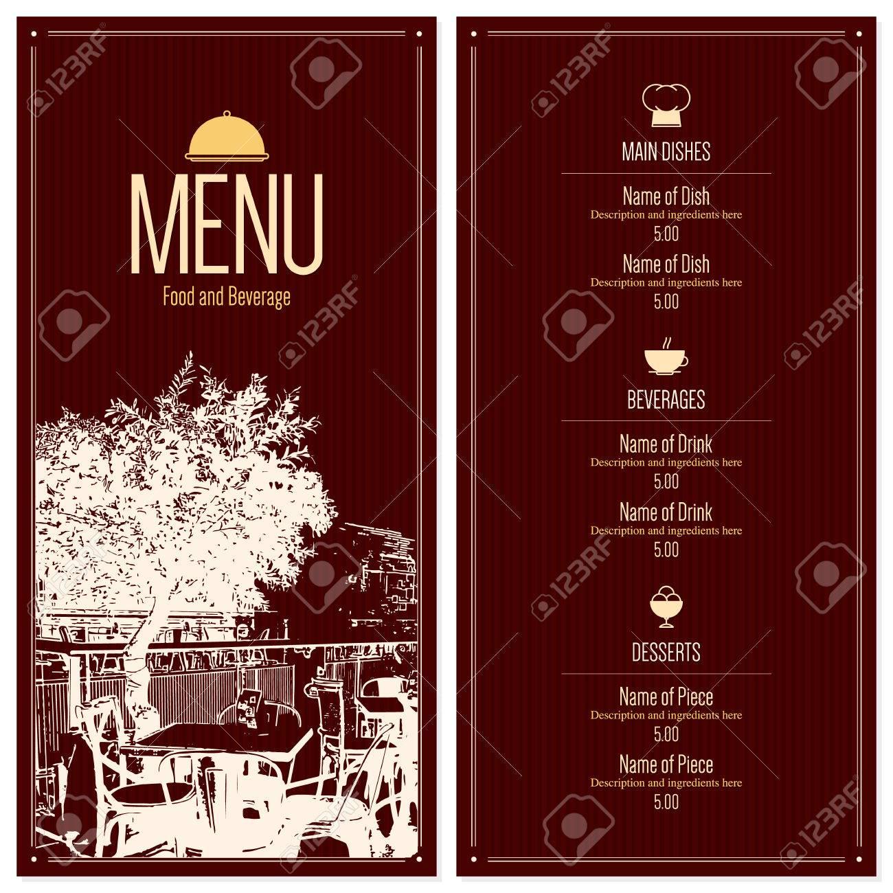 restaurant menu designs templates radiotodorock.tk