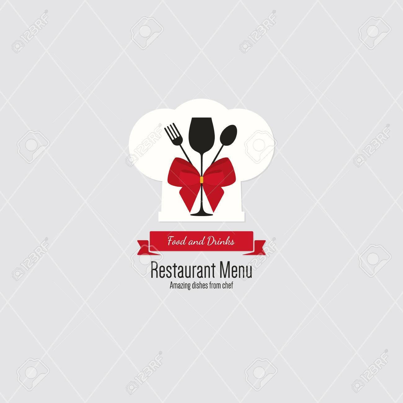Restaurant Menü-Design. Vector Menü-Broschüre Vorlage Für Café, Café ...